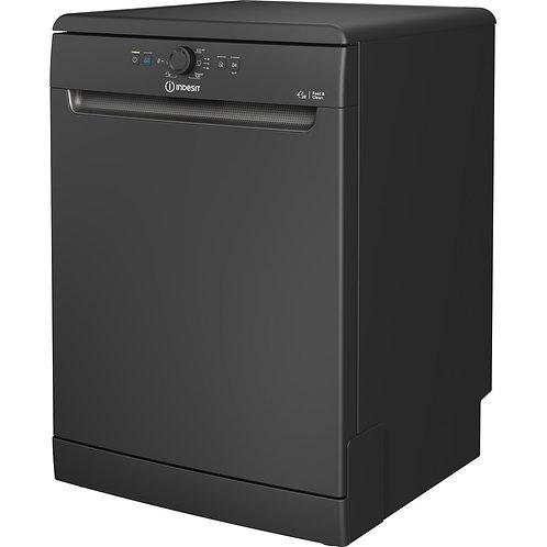 Indesit DFE1B19BUK Full Size Dishwasher in Black