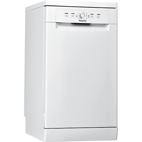 Hotpoint HSFE1B19UKN Slim Dishwasher White