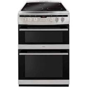Amica AFC6550SS Silver 60cm Double Oven