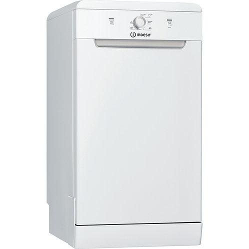 Indesit DSFE1B1O Slim Dishwasher White