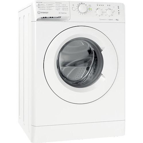 Indesit MTWC91283W 9kg 1200 Spin Washing Machine White