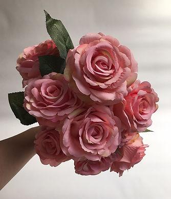 Flores Artificiales L Rosedal L Mexico