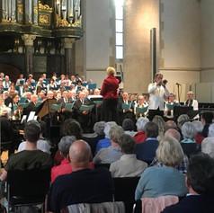 Soloist with Grootkoor Choir