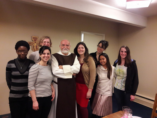 Fr. Jacques Philippe Visits Lisieux House!