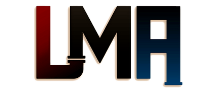 Lane Mechanical Associates logo, Logo, red,blue,Lincroft, middletown,New Jersey, Monmouth county, Lane Mecahanical Associates llc logo, red, blue, plumbing, heating, custom ductwork, air condition,