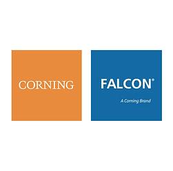 Logotipo Corning-Falcon