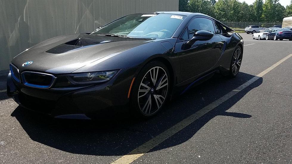 2016 BMW I8 Gry/Blk