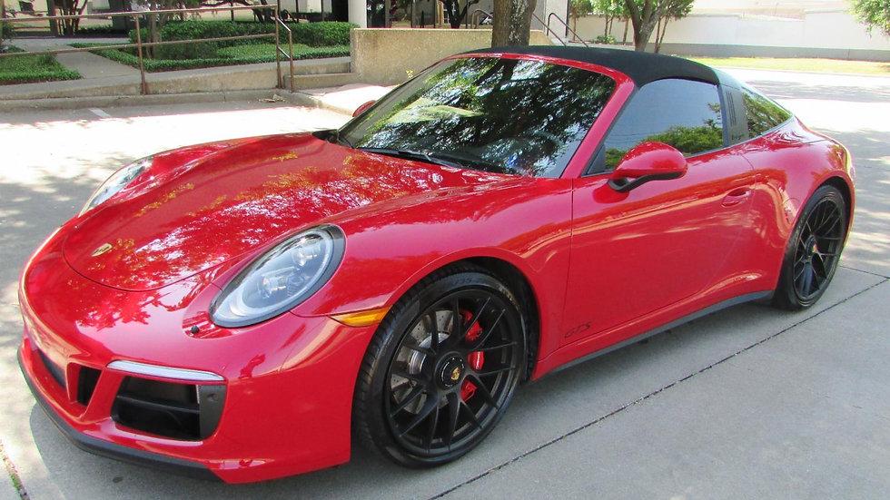 2018 Porsche 911 4 GTS* RED/GRY