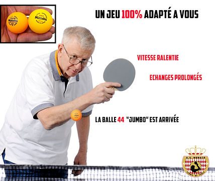 Ping pong senior à Monaco