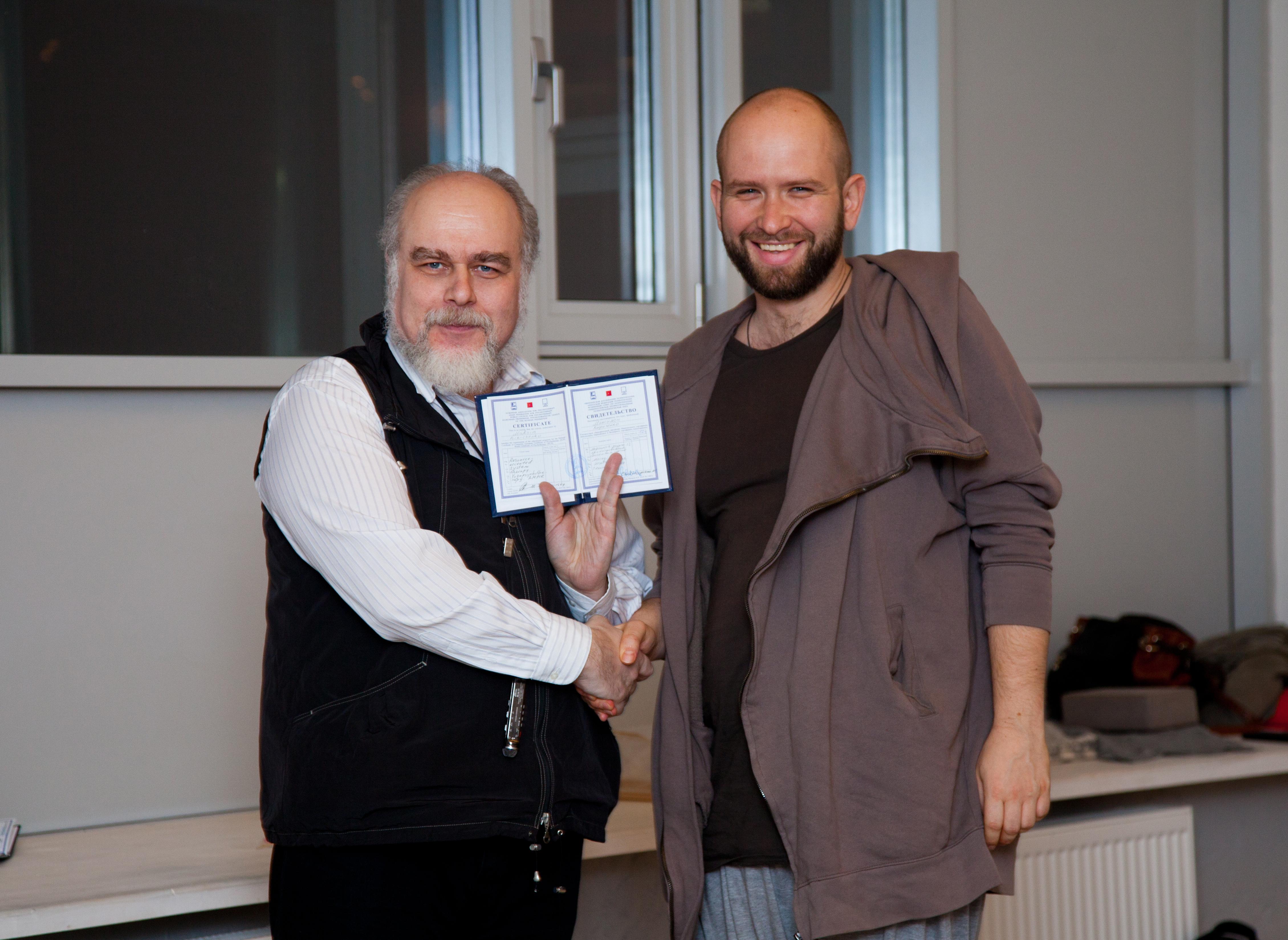 Марк Сандомирский и Макс Кириченко