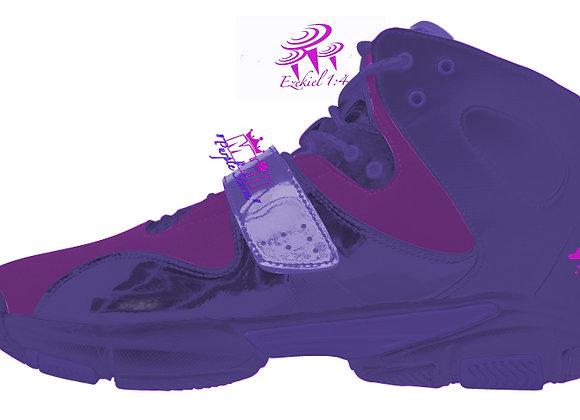 Performance Basketball Shoe - Purple Storm Violet