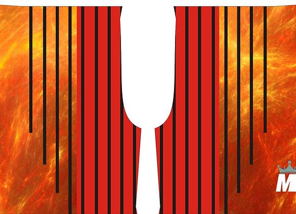 MHILL Performance Basketball Shorts - FIRE