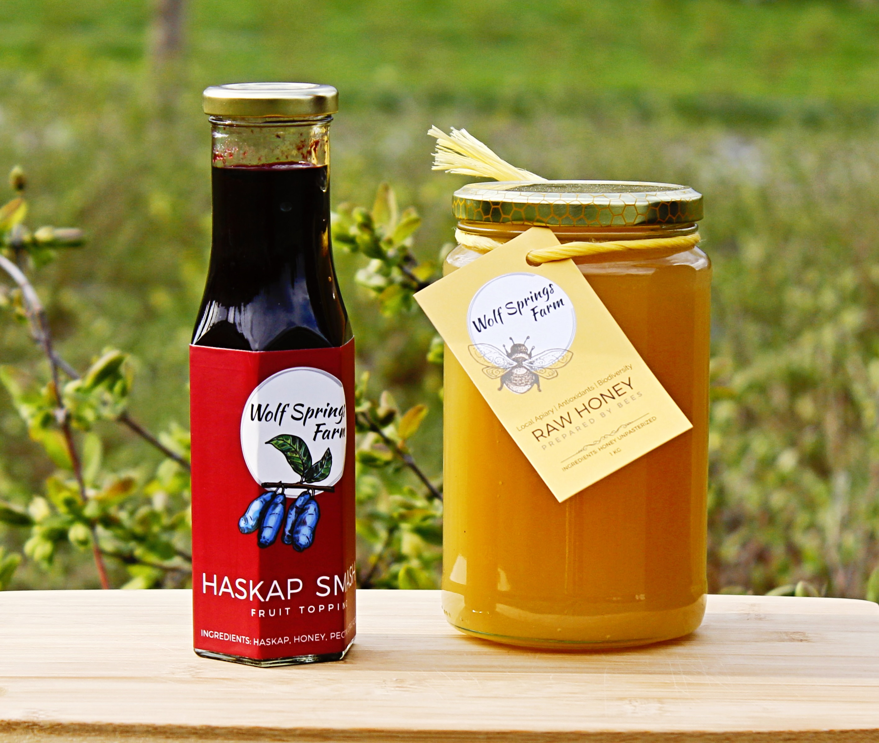 Haskap Smash & Raw Honey