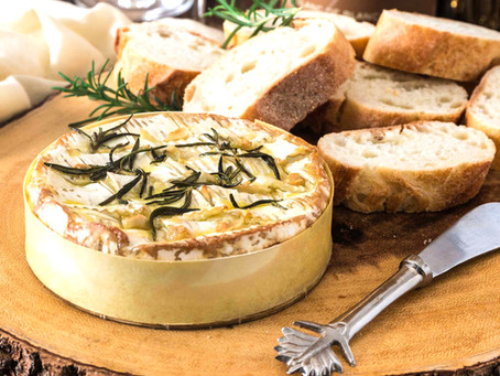 Baked Brie feat. Garlic Haskap Rosemary