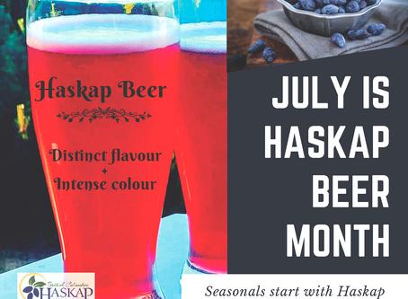 BC Brewers (heart) BC Haskaps