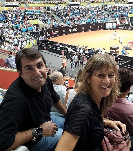 Marcos e Suzana - Diretores Suzana Silva Tênis