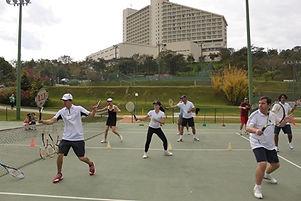 Aulas de tenis em casa
