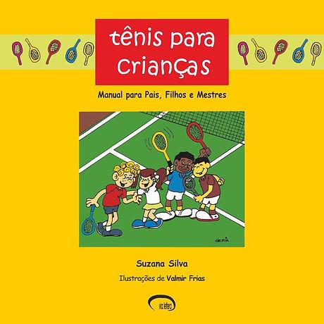 Capa Livro Tênis Para Crianças