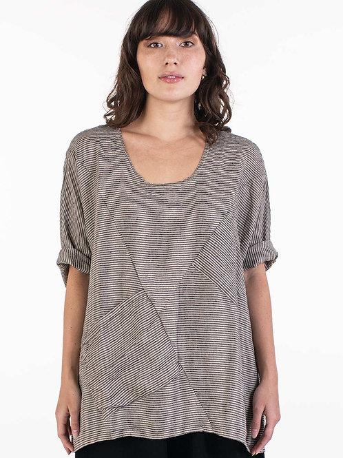 Stripe Bevel Shirt