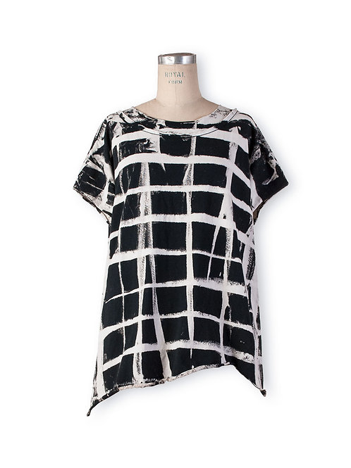 Boxy Tee with Graphic