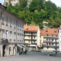Ljubljana's Castle view