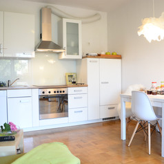 Ljubljana Apartment, Slovenia. Modern and fully equipped kitchen.
