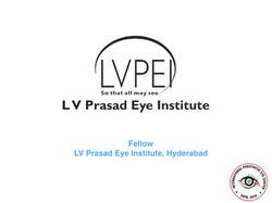 L V Prasad Eye Instutute