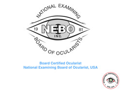 Board Certified Ocularist