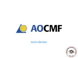 Member of AOCMF