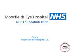 Moorfields Eye Hospital, London, UK