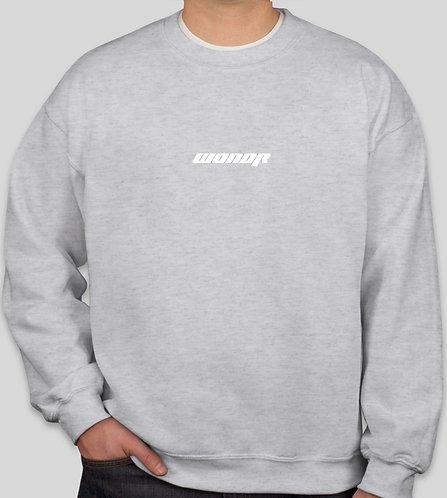 WONDR Racing Crewneck Sweatshirt (Grey)