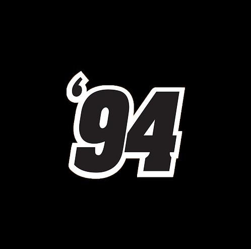 Black '94 Sticker