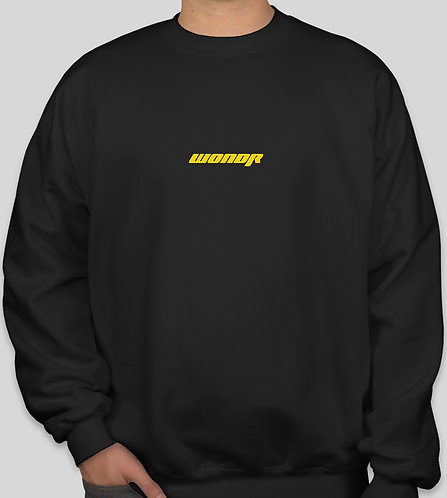 WONDR Racing Crewneck Sweatshirt (Black)