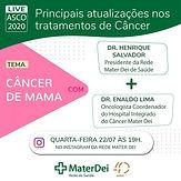 Principais atualizações nos tratamentos de câncer: Câncer de mama