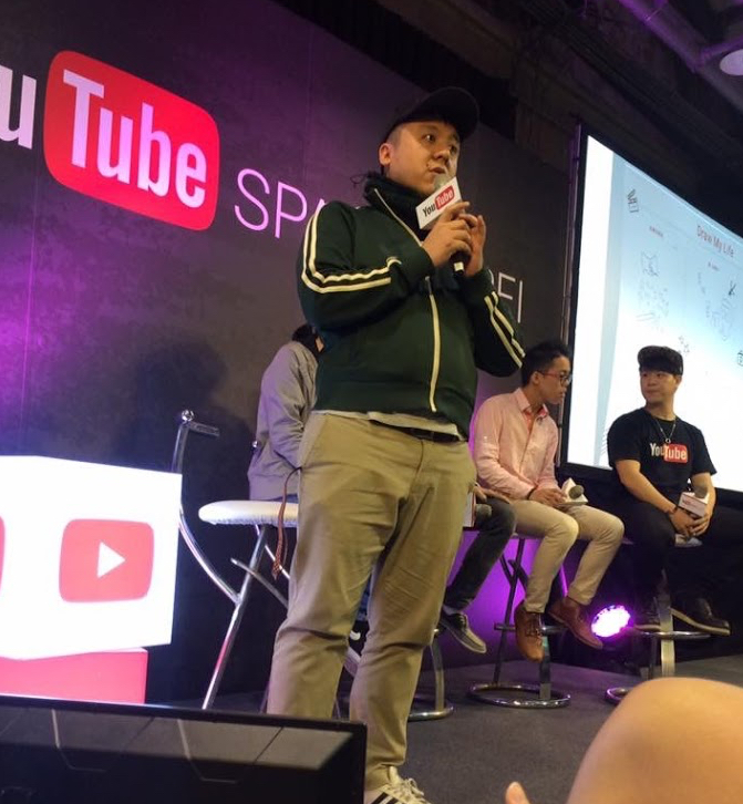 YouTube Space 活動主講