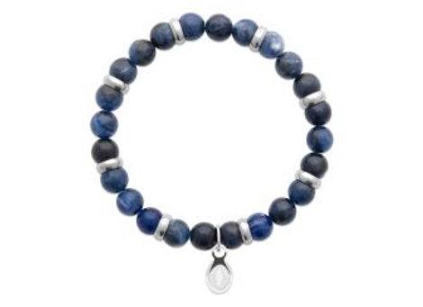 Bracelet perle en pierre