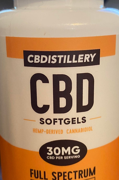CBDistillery 30mg Softgels, 30 count