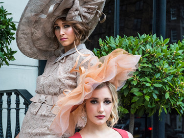 Luxury millinery Shoot