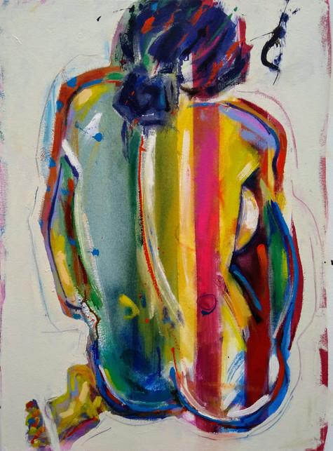 Inclusion (2020) Acrylic on Canvas_77