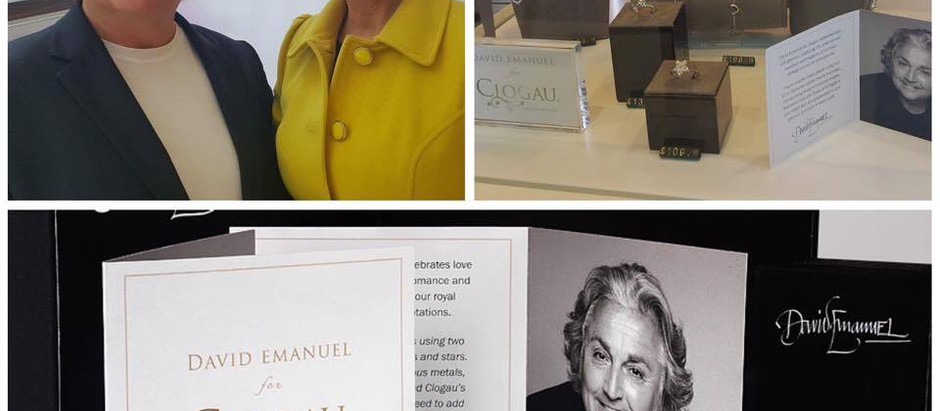 David Emanuel Launches Debut Jewellery Collection For Clogau