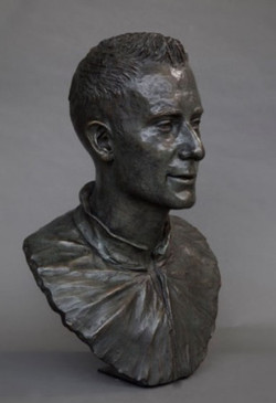 Bust of Peter Gade