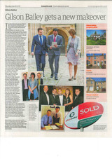Newspaper, Estate agency editorial
