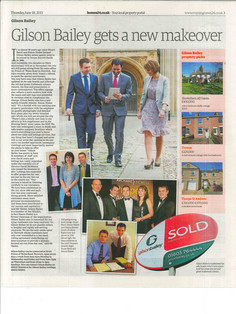 Newspaper, Estate agency editorial