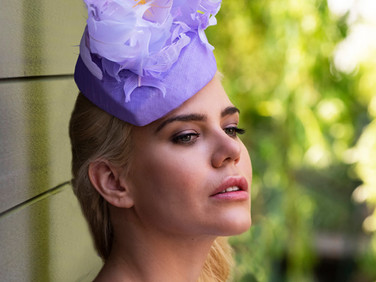 Millinery Cover shoot