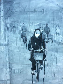 riding-alone-in-grey-2007-acrylic-on-can