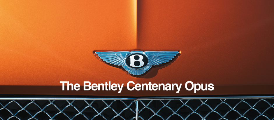 Bentley Centenary Opus: An Extraordinary book to celebrate a remarkable milestone...