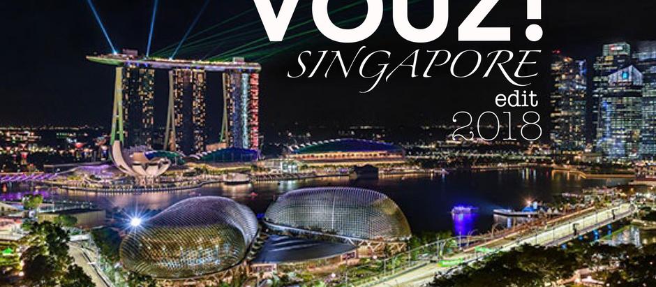 VOUZ! Magazine in Singapore F1!