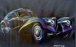 Black Atlantique -50x70cm pastel & gouac