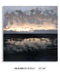 """CIEL & MER (Sky & Sea) III 63""""x 60"""""""