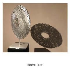 """CURSIVIS I   20"""" Diameter"""